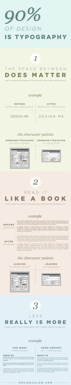 Another cool infographic but I *love* that it's about typography!