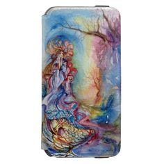 LADY OF LAKE , Magic and Mystery MONOGRAM Incipio Watson™ iPhone 6 Wallet Case