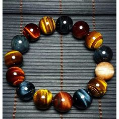 Tiger Eye Stone | Natural Bracelet