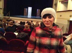 """#parlailpubblico #TeatriDICivitanova """"Il #teatro è importante perché,come dice #Shakespeare,-La vita è un palcoscenico!""""(Romina di Calsteferretti (AN)14marzo 2014"""