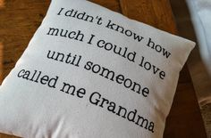 Canvas Pillow  Grandma Nana Pillow  by JoaniesFavoriteThing, $34.00 https://www.etsy.com/listing/198241773/canvas-pillow-grandma-nana-pillow?ref=shop_home_active_7