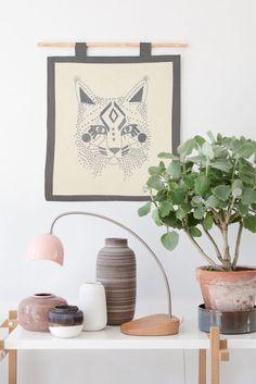 la la loving this #embroidery kit by lisa grue.