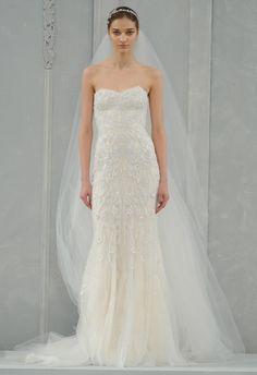 Monique Lhuillier (PV 2015) #weddingdresses #vestidodenovia #NYBW