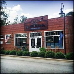 The Cafe @ Williams Hardware.  Must stop for this Travelers Rest experience on the Swamp Rabbit Trail.  Bike parking available.  Must treat yourself to the Tiramisu when it's available!