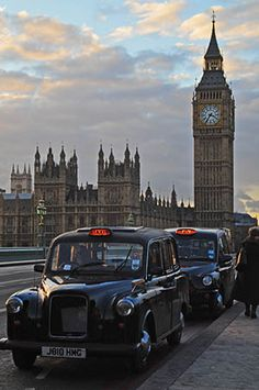 London taxi drivers are as aggressive as New York taxi drivers.  Shew we...what a ride!