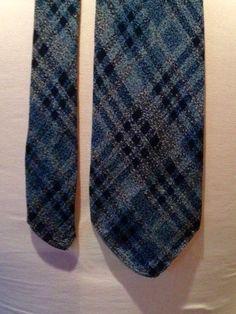 Vintage 1930s Mens Blue Argyle Tootal Necktie by VioletsEmporium on Etsy