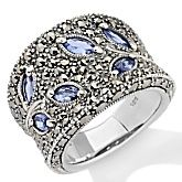 Tanzanite and Marcasite