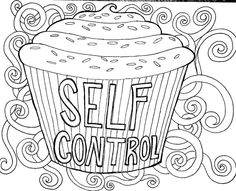 free self discipline coloring pages - photo#10