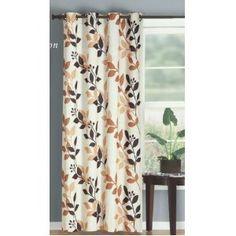 Multiple Colors - Sequoia Grommet Window Curtain Panel 58 x 84