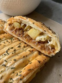 Braided minced meat and potato puff pastry - My tasty cuisine pies pies recipes dekorieren rezepte Diner Recipes, Kitchen Recipes, Easy Cake Recipes, Sauce Recipes, Benefits Of Potatoes, Mince Dishes, Potato Puffs, Potato Juice, Different Recipes