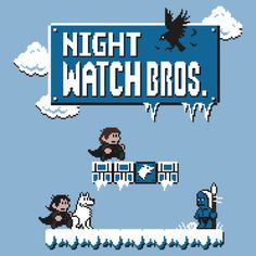 Night Watch Bros. T-Shirts & Hoodies by Baznet | Redbubble