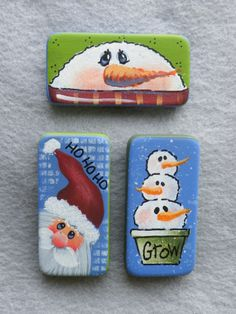 Handpainted Dominos for Pins