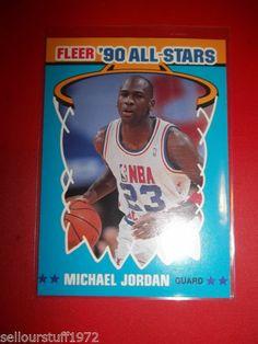 1990-91 Fleer All-Stars #5 Michael Jordan (auction 2 of 2)