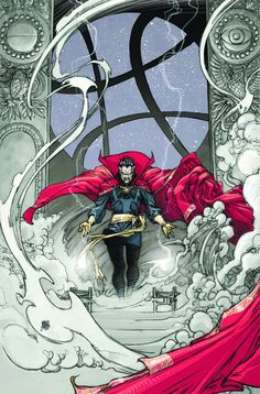 Doctor Strange: From The Marvel Vault #1 cover by Mario Alberti