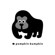 Gorilla, pumpkin bumpkin #illustration #painting #drawing #art #design Needle Felted Animals, Felt Animals, Needle Felting, Square Drawing, Mascot Design, Drawing Art, Art World, Mixed Media Art, Character Design