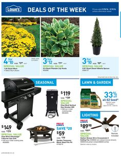 Lowe's Weekly Ad September 15 - 19, 2016 - http://www.olcatalog.com/home-garden/lowes-weekly-ad.html