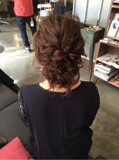 ヘアアレンジ♡ の画像|My Style Hair Design For Wedding, Pageant Hair, Hair Arrange, Head To Toe, All Fashion, Hair Designs, Updos, Hair Inspiration, Wedding Hairstyles