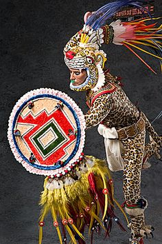 Aztec Jaguar warrior