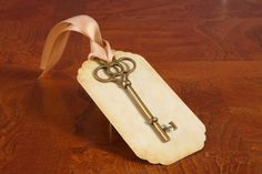 Hey, I found this really awesome Etsy listing at https://www.etsy.com/listing/118029045/vintage-key-tag-diy-blank-wedding-place