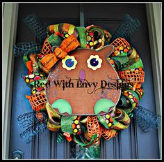 Hey, I found this really awesome Etsy listing at http://www.etsy.com/listing/158254319/fall-owl-wreath-fall-wreath-fall-wreath