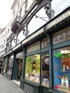 magasin de jouets, Bruxelles