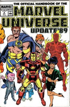 Official Handbook Marvel Universe Update '89 #4