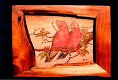 Austria pyrography | Pyrography in the Land Down Under