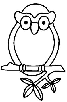 Coloring Page - Owl animal coloring pages 7