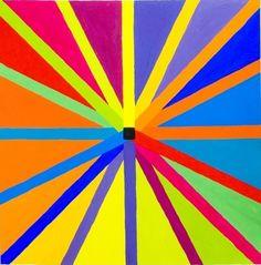 Color Wheel via Alberto Mateo Intermediate Colors, Creative Circle, Color Crayons, Rainbow Brite, Elements Of Art, Rainbow Colors, Bright Colors, Over The Rainbow, Happy Colors
