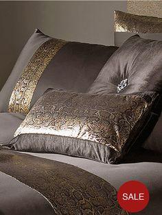 Kylie Minogue Phoenix Bronze Boudoir Cushion   very.co.uk