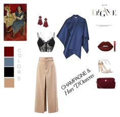 Styling by marisw on Polyvore featuring polyvore, fashion, style, Burberry, Chloé, Alexandre Birman, Chanel, Miss Selfridge, Lime Crime and clothing