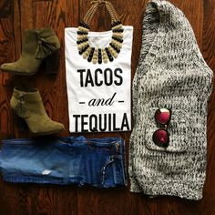 Tacos and Tequila t-shirt! Two of my favorite things