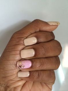 Mellow nails - nudes n pink
