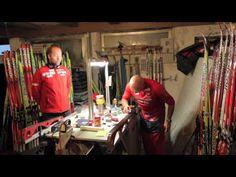 Smørekurs 8: Feste etter glider - YouTube