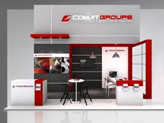 COMAT GROUPE Exhibition Booth Design, Exhibition Stands, Phone Store, Exhibitions, Conception, Home Decor, Style, Ideas, Facades