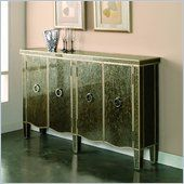 Pulaski Tiara Silver Modern Console Table - 923080