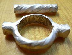 Erste Ringform wird deutlich