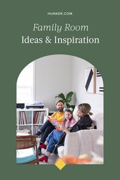 Need help decorating your family room? From small family room ideas to bigger gathering areas for movie night, check out our guide for finding the perfect furniture, decor, and lighting. #familyroom #livingroom #familyroomdecor Family Room Decorating, Interior Design Inspiration, Toddler Bed, Furniture, Child Bed, Arredamento