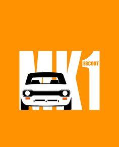 MK 1 ESCORT RS 1800 2000 MEXICO MEN'S T-SHIRTS
