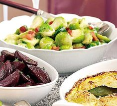 A great way to jazz up Brussels sprouts for an extra special occasion
