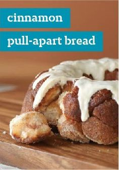 Cinnamon Pull-Apart Bread – Do yourself a favor and don't bother monkeying around with any other recipes for cinnamon pull-apart bread. They'll go ape for every perfectly glazed bite.