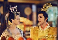 """The drama, """"The Empress of China,"""" or the """"Saga of Wu Zetian,"""" tells the story of China's only known empress. It began broadcasting on December 21, but was removed a week later by commercial satellite station Hunan TV for """"technical reasons.""""  Viewers speculated that the suspension was a punishment imposed by media regulators in response to the much-discussed revealing costumes of the show's female characters, who were nicknamed """"squeezed breasts"""" online."""