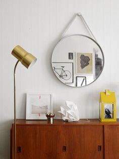 Swedish Apartment With a Mid Century Touch | via My Scandinavian Home