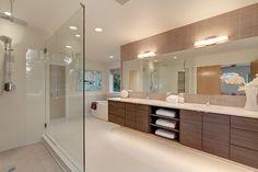 master bathroom : mercer island, wa