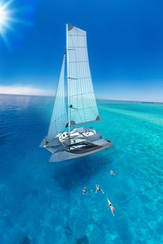 Once in a Lifetime Experience – Yacht Charter Sailing in Greece Sailing Cruises, Sailing Catamaran, Yacht Boat, Sailing Ships, Sailing Boat, Catamaran Design, Cruise Italy, Sailboat Living, Sailing Holidays