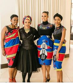 Xhosa Attire, African Attire, African Wear, African Women, African Style, African Traditional Wedding, African Traditional Dresses, Traditional Outfits, Traditional Weddings