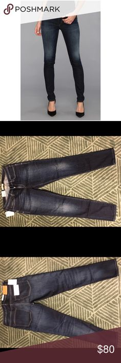 Levi's Made and Crafted Pins Skinny Jeans NWT Levi's Made and Crafted Pins skinny jeans. Dark blue wash. Size 30 x 32. Very slim fit. NWT. Levi's Jeans Skinny