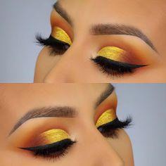 Make-up für rotes Kleid Revolution Lidschatten-Palette nykaa . - Make-up für rotes Kleid Revolution Lidschatten Palette Nykaa Make-up i - # Eye Makeup Steps, Makeup Eye Looks, Eye Makeup Art, Cute Makeup, Eyeshadow Makeup, Intense Eye Makeup, Huda Lipstick, Glitter Makeup, Glitter Eyeshadow