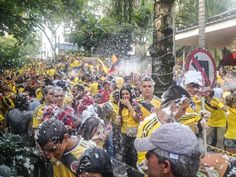 Celebrating Watching the 2014 World Cup in Parque Lleras (Photos)