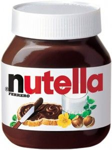 YUMMY!  Nutella Spread!  My favorite Pinterest ingredient in recipes!!  OH and better add this to my bargain board--> Nutella RARE Printable Coupon: Buy 1 Get 1 FREE!